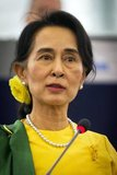 Aung San Suu Kyi (born June 19 1945) is a Burmese opposition politician and General Secretary of the National League for Democracy. In the 1990 general election, Suu Kyi was elected Prime Minister as leader of the winning National League for Democracy party, which won 59% of the vote and 394 of 492 seats. She had, however, already been detained under house arrest before the elections.<br/><br/>  She remained under house arrest in Myanmar for almost 15 years until 2010. Suu Kyi was the recipient of the Rafto Prize and the Sakharov Prize for Freedom of Thought in 1990 and the Nobel Peace Prize in 1991. In 1992 she was awarded the Jawaharlal Nehru Award for International Understanding by the Government of India.