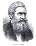 Alfred Russel Wallace OM FRS (8 January 1823 – 7 November 1913) was a British naturalist, explorer, geographer, anthropologist, and biologist. He is best known for independently conceiving the theory of evolution through natural selection; his paper on the subject was jointly published with some of Charles Darwin's writings in 1858. This prompted Darwin to publish his own ideas in <i>On the Origin of Species.</i><br/><br/>  Wallace did extensive fieldwork, first in the Amazon River basin and then in the Malay Archipelago, where he identified the faunal divide now termed the Wallace Line, which separates the Indonesian archipelago into two distinct parts: a western portion in which the animals are largely of Asian origin, and an eastern portion where the fauna reflect Australasia.<br/><br/>  Wallace was a prolific author who wrote on both scientific and social issues; his account of his adventures and observations during his explorations in Singapore, Indonesia and Malaysia, <i>The Malay Archipelago,</i> is regarded as probably the best of all journals of scientific exploration published during the 19th century.