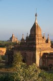 The Sulamani Temple was built in 1183 by King Narapatisithu (r. 1174 - 1211).<br/><br/>  Bagan, formerly Pagan, was mainly built between the 11th century and 13th century. Formally titled Arimaddanapura or Arimaddana (the City of the Enemy Crusher) and also known as Tambadipa (the Land of Copper) or Tassadessa (the Parched Land), it was the capital of several ancient kingdoms in Burma.