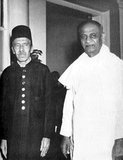 Nizam Sir Mir Osman Ali Khan Siddiqi Asaf Jah VII was the last Nizam (or ruler) of the Princely State of Hyderabad and of Berar. He ruled Hyderabad between 1911 and 1948, until it was annexed by India.<br/><br/>  Vallabhbhai Jhaverbhai Patel (31 October 1875 – 15 December 1950) was an Indian barrister and statesman, one of the leaders of the Indian National Congress and one of the founding fathers of the Republic of India.
