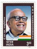Elamkulam Manakkal Sankaran Namboodiripad (13 June 1909 – 19 March 1998), popularly EMS, was an Indian communist politician and theorist, who served as the first Chief Minister of Kerala state in 1957–59 and then again in 1967–69. As a member of the Communist Party of India (CPI), he became the first non-Congress chief minister in the Indian republic. In 1964, he led a faction of the CPI that broke away to form the Communist Party of India (Marxist) (CPM).<br/><br/>  As chief minister, Namboodiripad pioneered radical land and educational reforms in Kerala, which helped it become the country's leader in social indicators. It is largely due to his commitment and guidance that the CPM, of which he was Politburo member and general secretary for 14 years, has become such a domineering political force, playing a vital role in India's new era of coalition politics.