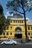 Saigon's General Post Office, next to Notre Dame Cathedral, was built between 1886 and 1891. Designed by Gustave Eiffel (of Eiffel Tower fame), the vaulted interior is reminiscent of a grand 19th century European train station.<br/><br/>  Former Emperor Bảo Đại made Saigon the capital of the State of Vietnam in 1949 with himself as head of state. After the Việt Minh gained control of North Vietnam in 1954, it became common to refer to the Saigon government as 'South Vietnam'.<br/><br/>  The government was renamed the Republic of Vietnam when Bảo Đại was deposed by his Prime Minister Ngo Dinh Diem in a fraudulent referendum in 1955. Saigon and Cholon, an adjacent city with many Sino-Vietnamese residents, were combined into an administrative unit called Đô Thành Sài Gòn (Capital City Saigon).<br/><br/>