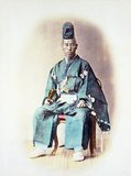 Tokugawa Yoshinobu, also known as 'Keiki', was the 15th and last shogun of the Tokugawa shogunate of Japan. He was part of a movement which aimed to reform the aging shogunate, but was ultimately unsuccessful.<br/><br/>   After resigning in late 1867, he went into retirement, and largely avoided the public eye for the rest of his life.