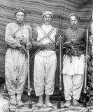 The Kurds are an ethnic Iranian group in the Middle East, mostly inhabiting a contiguous area spanning adjacent parts of modern-day Iran, Iraq, Syria, and Turkey, a geo-cultural region often referred to as 'Kurdistan'. The Kurds have ethnically diverse origins. They are culturally and linguistically closely related to the Iranian peoples and, as a result, are often themselves classified as an Iranian people. The Kurdish languages form a subgroup of the Northwestern Iranian languages.<br/><br/>  The Kurds number about 40 million, the majority living in West Asia, including significant Kurdish diaspora communities in the cities of western Turkey outside of Kurdistan. A recent Kurdish diaspora has developed in Western countries, primarily in Germany. The Kurds are in the majority in the autonomous region of Iraqi Kurdistan and in the autonomous region of Syrian Kurdistan and are a significant minority group in the neighboring countries Turkey and Iran, where Kurdish nationalist movements continue to pursue autonomy.