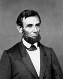 Abraham Lincoln (February 12, 1809 – April 15, 1865) was the 16th President of the United States, serving from March 1861 until his assassination in April 1865.<br/><br/>  Lincoln led the United States through its Civil War—its bloodiest war and its greatest moral, constitutional and political crisis. In doing so, he preserved the Union, abolished slavery, strengthened the federal government, and modernized the economy.