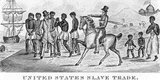 The Atlantic slave trade or transatlantic slave trade took place across the Atlantic Ocean from the 16th through to the 19th centuries. The vast majority of those enslaved that were transported to the New World, many on the triangular trade route and its Middle Passage, were West Africans from the central and western parts of the continent sold by western Africans to western European slave traders, or by direct European capture to the Americas.<br/><br/>  The numbers were so great that Africans who came by way of the slave trade became the most numerous Old World immigrants in both North and South America before the late 18th century.  Far more slaves were taken to South America than to the north. The South Atlantic economic system centered on producing commodity crops, and making goods and clothing to sell in Europe, and increasing the numbers of African slaves brought to the New World.