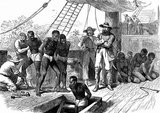 Slavery is commonly problematized as a Southern issue within the study of American history, but it was practiced throughout the colonies and early United States until the turn of the 19th century.<br/><br/>  In no place in the North was this more prevalent than Rhode Island. At the time of the American Revolution the state had a black population (mostly slave) estimated at 6-7% (double the percentage in any other New England state). Slaves were not emancipated by law in that state until 1784, and even then the process was gradual.<br/><br/>  Even less savory was Newport, Rhode Island's status as the center of the American slave trade. Until this trade was forced underground by the prohibition of the trade in 1808, it represented the 'number one financial activity' for the state.<br/><br/>  One estimate puts the number of slaves imported by Rhode Island merchants at slightly over 100,000 in the century before 1808, a number which would represent 20% of all slaves ever imported to the United States. In the first years after the Revolution, it is estimated that Rhode Island merchants were responsible for importing an outright majority of the slaves who arrived.