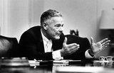 Henry Cabot Lodge, Jr. (July 5, 1902 – February 27, 1985), sometimes referred to as Henry Cabot Lodge II, was a Republican United States Senator from Massachusetts and a U.S. ambassador to the United Nations, South Vietnam, West Germany, and the Holy See (as Representative).<br/><br/>  He was the Republican nominee for Vice President in the 1960 Presidential election.