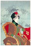 Empress Shoken (Shoken-kogo, 9 May 1849 – 9 April 1914), also known as Empress Dowager Shoken (Shoken-kotaigo), was empress consort of Emperor Meiji of Japan.