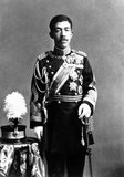 Emperor Taishō (Taisho-tenno, 31 August 1879 – 25 December 1926) was the 123rd Emperor of Japan, according to the traditional order of succession, reigning from 30 July 1912, until his death in 1926.<br/><br/>  The Emperor's personal name was Yoshihito. According to Japanese custom, during the reign the emperor is called the (present) Emperor. After death he is known by a posthumous name that, according to a practice dating to 1912, is the name of the era coinciding with his reign. Having ruled during the Taisho period, he is correctly known as The Taisho Emperor.