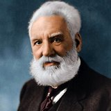 Alexander Graham Bell (March 3, 1847 – August 2, 1922) was an eminent Scottish-born scientist, inventor, engineer and innovator who is credited with inventing the first practical telephone.<br/><br/>  Bell's father, grandfather, and brother had all been associated with work on elocution and speech, and both his mother and wife were deaf, profoundly influencing Bell's life's work. His research on hearing and speech further led him to experiment with hearing devices which eventually culminated in Bell being awarded the first U.S. patent for the telephone in 1876. Bell considered his most famous invention an intrusion on his real work as a scientist and refused to have a telephone in his study.<br/><br/>  Many other inventions marked Bell's later life, including groundbreaking work in optical telecommunications, hydrofoils and aeronautics. In 1888, Bell became one of the founding members of the National Geographic Society.
