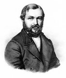 Heinrich Barth (16 February 1821 – 25 November 1865) was a German explorer of Africa and scholar.<br/><br/>  Barth is thought to be one of the greatest of the European explorers of Africa, as his scholarly preparation, ability to speak and write Arabic, learning African languages, and character meant that he carefully documented the details of the cultures he visited. He was among the first to comprehend the uses of oral history of peoples, and collected many. He established friendships with African rulers and scholars during his five years of travel (1850–1855).