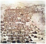 René Caillié (19 November 1799 – 17 May 1838) was a French explorer and the first European to return alive from the town of Timbuktu.<br/><br/>  In April 1827 he set off across West Africa. He arrived in Timbuktu a year later and stayed there for two weeks before heading across the Sahara Desert to Tangier in Morocco.<br/><br/>  On his return to France, he was awarded the prize of 10,000 francs by the Société de Géographie and helped by the scholar Edme-François Jomard, published an account of his journey. In 1830 he was awarded the Gold Medal by the Société de Géographie.