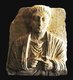 Syria: Funerary relief of a man, provenance uncertain but possibly Palmyra, c. 2nd century CE