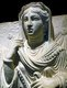 Syria: Funerary Portrait of Balya Daughter of Yarkhai. Limestone, Palmyra, 2nd century CE