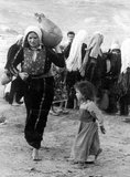 The 1948 Palestinian exodus, known in Arabic as the Nakba (Arabic: an-Nakbah, lit.'catastrophe'), occurred when more than 700,000 Palestinian Arabs fled or were expelled from their homes, during the 1947–1948 Civil War in Mandatory Palestine and the 1948 Arab–Israeli War.<br/><br/>  The exact number of refugees is a matter of dispute, but around 80 percent of the Arab inhabitants of what became Israel (50 percent of the Arab total of Mandatory Palestine) left or were expelled from their homes.<br/><br/>  Later in the war, Palestinians were forcibly expelled as part of 'Plan Dalet' in a policy of 'ethnic cleansing'.
