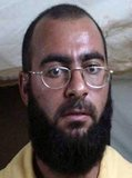 Abu Bakr al-Baghdadi is the leader of the Islamic State of Iraq and Syria (ISIS), an Islamic Salafi Jihadist movement in western Iraq, the Egyptian Sinai, Libya, northeast Nigeria and Syria, self-styled as the 'Islamic State' (ad-Dawlah al-Islamiyah).<br/><br/>  On 4 October 2011, the U.S. State Department listed al-Baghdadi as a 'Specially Designated Global Terrorist', and announced a reward of up to US$10 million for information leading to his capture or death.