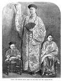 Zhan Shichai (1841 - 5 November 1893) was a Chinese giant who toured the world as 'Chang the Chinese Giant' in the 19th century. His stage name was 'Chang Woo Gow'.<br/><br/>   Zhan was born in Fuzhou, Fujian Province in the 1840s, though reports of the year vary from 1841 to 1847. His height was claimed to be over 8 feet (2.4 m), but there are no authoritative records. He left China in 1865 to travel to London where he appeared on stage, later travelling around Europe, and to the US and Australia as 'Chang the Chinese Giant'. Zhan received a good education in various countries, and developed a good understanding of ten languages. In America, he earned a salary of $500 a month.<br/><br/>   Kin Foo, the Chinese wife who accompanied Zhan from China, died in 1871, and Zhan later married Catherine Santley, a Liverpudlian whom he met in Sydney, Australia. They had two children: Edwin, born in 1877 in Shanghai, and Ernest, born in 1879 in Paris.<br/><br/>   In 1878, Zhan retired from the stage and settled in Bournemouth, where he opened a Chinese teahouse and a store selling Chinese imports.<br/><br/>   Zhan died in Bournemouth in 1893, four months after his wife, aged around 50. His coffin was 8 feet 6 inches (2.6 m) long.