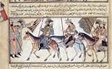 The Samanid dynasty, also known as the Samanid Empire, or simply Samanids (819–999), was a Sunni Persian Empire in Central Asia, named after its founder Saman Khuda, a landowner from Balkh, who converted to Islam despite being from Zoroastrian nobility.<br/><br/>  It was a native Persian dynasty in Greater Iran and Central Asia after the collapse of the Sassanid Persian empire caused by the Arab conquest.<br/><br/>  Isma'il Muntasir attempted to resurrect the Samanid state in Transoxiana and eastern Iran (1000–1005). He was the son of Nuh II.