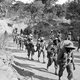 The 11th East Africa Infantry Division was composed of soldiers from the modern-day nations of Kenya, Uganda, Malawi, Tanzania and Zimbabwe. The division fought with the British Fourteenth Army in Burma (Myanmar) during the Burma Campaign.<br/><br/>  In the later part of 1944, the division pursued the Japanese retreating from Imphal in Northeast India down the Kabaw Valley in Burma and established bridgeheads over the Chindwin River.