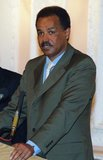 Isaias Afwerki, sometimes spelled Afewerki (born February 2, 1946), is the first President of the State of Eritrea, a position he has held since its independence in 1993. He led the Eritrean People's Liberation Front (EPLF) to victory in May 1991, thus ending the 30-year-old armed liberation struggle.<br/><br/>  The EPLF adopted a new political party name, People's Front for Democracy and Justice (PFDJ) to reflect its new responsibilities. The PFDJ, with Isaias as its leader, remains the only governing party of Eritrea as of 2015.