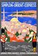 France / Turkey: Vintage Orient Express poster featuring Istanbul's Sulemaniye Mosque, Roger Broders, 1921