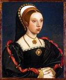 Catherine Howard (c.1521 – 13 February 1542) was Queen of England from 1540 until 1541, as the fifth wife of Henry VIII. Catherine married Henry VIII on 28 July 1540, at Oatlands Palace, in Surrey, almost immediately after the annulment of his marriage to Anne of Cleves was arranged.<br/><br/>  Catherine was beheaded after less than two years of marriage to Henry on the grounds of treason by committing adultery while married to the King.