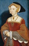 Jane Seymour (c. 1508 – 24 October 1537) was Queen of England from 1536 to 1537 as the third wife of King Henry VIII. She succeeded Anne Boleyn as queen consort following the latter's execution for high treason, incest and adultery in May 1536. She died of postnatal complications less than two weeks after the birth of her only child, a son who reigned as King Edward VI.<br/><br/>  She was the only one of Henry's wives to receive a queen's funeral, and his only consort to be buried beside him in St. George's Chapel, Windsor Castle. She was the only wife of Henry VIII whose son survived infancy.