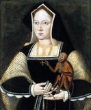 Catherine of Aragon (Castilian: Catalina; also spelled Katherine of Aragon, 16 December 1485 – 7 January 1536) was the Queen of England from June 1509 until May 1533 as the first wife of King Henry VIII; she was previously Princess of Wales as the wife of Prince Arthur.<br/><br/>  The daughter of Queen Isabella I of Castile and King Ferdinand II of Aragon, Catherine was three years old when she was betrothed to Prince Arthur, heir apparent to the English throne. They married in 1501, and Arthur died five months later. In 1507, she held the position of ambassador for the Spanish Court in England, becoming the first female ambassador in European history. Catherine subsequently married Arthur's younger brother, the recently succeeded Henry VIII, in 1509.<br/><br/>  She died at Kimbolton Castle  on 7 January 1536.