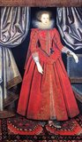 Catherine (or Katherine) Howard, Countess of Suffolk (1564–1633) was born in Charlton, Wiltshire, the oldest child of Sir Henry Knyvet and his wife Elizabeth Stumpe.<br/><br/>  Her uncle was Sir Thomas Knyvet, who foiled the gunpowder plot.