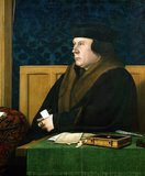 Thomas Cromwell, 1st Earl of Essex, KG (c. 1485 – 28 July 1540), was an English lawyer and statesman who served as chief minister to King Henry VIII of England from 1532 to 1540.<br/><br/>  Cromwell was one of the strongest and most powerful advocates of the English Reformation. He helped to engineer an annulment of the king's marriage to Queen Catherine of Aragon to allow Henry to marry his mistress Anne Boleyn. After failing in 1534 to obtain the Pope's approval of the request for annulment, Parliament endorsed the King's claim to be head of the breakaway Church of England, thus giving Henry the authority to annul his own marriage. Cromwell subsequently plotted an evangelical, reformist course for the embryonic Church of England from the unique posts of vicegerent in spirituals and vicar-general.<br/><br/>  During his rise to power, Cromwell made many enemies, including his former ally Anne Boleyn; he played a prominent role in her downfall. He later fell from power after arranging the King's marriage to a German princess, Anne of Cleves. Cromwell hoped that the marriage would breathe fresh life into the Reformation in England, but because Henry found his new bride unattractive, it turned into a disaster for Cromwell and ended in an annulment six months later. Cromwell was arraigned under a bill of attainder and executed for treason and heresy on Tower Hill on 28 July 1540. The King later expressed regret at the loss of his chief minister.