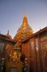 Burma / Myanmar: The sun sets on the Sutaungpyei Pagoda at the summit of Mandalay Hill, Mandalay
