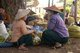 Burma / Myanmar: Intha women at the Thaung Tho Market at the southwestern end of Inle Lake, Shan State