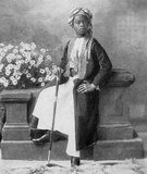 Sayyid Ali bin Hamud Al-Busaid (June 7, 1884 – December 20, 1918) was the eighth Sultan of Zanzibar. Ali ruled Zanzibar from July 20, 1902 to December 9, 1911, having succeeded to the throne on the death of his father, the seventh Sultan.<br/><br/>  He served only a few years as sultan because of illness. In 1911 he abdicated in favour of his brother-in-law Sayyid Khalifa bin Harub Al-Busaid.
