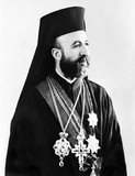 Makarios III, born Michail Christodoulou Mouskos (August 13, 1913 – August 3, 1977), was the archbishop and primate of the autocephalous Church of Cyprus, a Greek Orthodox Church (1950–1977), and the first President of the Republic of Cyprus (1960–1974 and 1974–1977).<br/><br/>  In his three terms as President of Cyprus (1960–1977), he survived four assassination attempts and a 1974 coup.