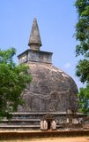 Kiri Vehera was built by Queen Subhadra, wife of King Parakramabahu, in the 12th century.<br/><br/>  Polonnaruwa, the second most ancient of Sri Lanka's kingdoms, was first declared the capital city by King Vijayabahu I, who defeated the Chola invaders in 1070 CE to reunite the country under a national leader.
