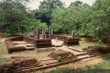 Polonnaruwa, the second most ancient of Sri Lanka's kingdoms, was first declared the capital city by King Vijayabahu I, who defeated the Chola invaders in 1070 CE to reunite the country under a national leader.
