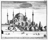 Istanbul's Hagia Sophia (Greek) or Ayasofya (Turkish) was originally constructed as a main Eastern Orthodox church and served in this role from 537 CE until the fall of Constantinople in 1453 (except between 1204 and 1261 when it was converted by the Fourth Crusaders to a Roman Catholic cathedral).<br/><br/>  When the Ottoman Turks under Mehmed II conquered Constantinople, the Hagia Sophia was converted into a mosque and Christian relics and art were either removed or plastered over. It remained a mosque for almost 500 years, before being converted into a museum between 1931 and 1935.<br/><br/>  Famous in particular for its massive dome, it is considered the epitome of Byzantine architecture and influenced the design of numerous mosques in what is now Istanbul.
