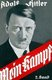 <i>Mein Kampf</i> is an autobiography by the National Socialist leader Adolf Hitler, in which he outlines his political ideology and future plans for Germany. Volume 1 of <i>Mein Kampf</i> was published in 1925 and Volume 2 in 1926.<br/><br/>  Hitler began dictating the book to Rudolf Hess (1894 - 1987) while imprisoned for what he considered to be 'political crimes' following his failed Putsch in Munich in November 1923. Although Hitler received many visitors initially, he soon devoted himself entirely to the book.<br/><br/>  In 2016, following the expiry of the copyright held by the Bavarian state government, <i>Mein Kampf</i> was republished in Germany for the first time since 1945.