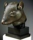 China: Bronze rat head looted from a clepsydra or water clock at the Old Summer Palace in Beijing, 1860, and returned to China by Francois-Henri Pinault in 2013