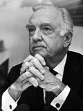 Walter Leland Cronkite, Jr. (November 4, 1916 – July 17, 2009) was an American broadcast journalist, best known as anchorman for the CBS Evening News for 19 years (1962–81).<br/><br/>  He reported many events from 1937 to 1981, including bombings in World War II; the Nuremberg trials; combat in the Vietnam War; the Dawson's Field hijackings; Watergate; the Iran Hostage Crisis; and the assassinations of President John F. Kennedy, civil rights pioneer Martin Luther King, Jr., and Beatles musician John Lennon.