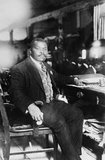 Marcus Mosiah Garvey, Jr., (17 August 1887 – 10 June 1940), was a Jamaican political leader, publisher, journalist, entrepreneur, and orator who was a proponent of the Pan-Africanism movement, to which end he founded the Universal Negro Improvement Association and African Communities League. He also founded the Black Star Line, a shipping and passenger line which promoted the return of the African diaspora to their ancestral lands.<br/><br/>  Garvey advanced a Pan-African philosophy to inspire a global mass movement and economic empowerment focusing on Africa known as 'Garveyism'. Garveyism intended persons of African ancestry in the diaspora to 'redeem' the nations of Africa and for the European colonial powers to leave the continent.