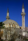 The Tekkiye Mosque (also Takiyyeh as-Sulaymaniyyah, Takieh as-Sulaymaniyya) was built on the orders of Suleiman the Magnificent and designed by the architect Mimar Sinan between 1554 and 1560. It has been described as 'the finest example in Damascus of Ottoman architecture'.