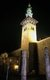Syria: Minaret of the Bride at night, Umayyad Mosque, Damascus (1998)