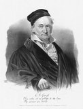 Johann Carl Friedrich Gauss (30 April 1777 – 23 February 1855) was a German mathematician who contributed significantly to many fields, including number theory, algebra, statistics, analysis, differential geometry, geodesy, geophysics, mechanics, electrostatics, astronomy, matrix theory, and optics.<br/><br/>  Sometimes referred to as the <i>Princeps mathematicorum</i> (Latin, 'the foremost of mathematicians') and the 'greatest mathematician since antiquity', Gauss had an exceptional influence in many fields of mathematics and science and is ranked as one of history's most influential mathematicians.