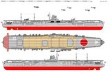 The Imperial Japanese Navy aircraft carrier Hiryu was constructed between 1936 and 1939, and served between 1939 and 1942.<br/><br/>  The Hiryu participated in the attack on Pearl Harbour in December 1941, and was sunk at the Battle of Midway in June 1942.