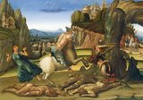 Luca Signorelli (c. 1445 – 16 October 1523) was an Italian Renaissance painter who was noted in particular for his ability as a draughtsman and his use of foreshortening.<br/><br/>  His massive frescoes of the Last Judgment (1499–1503) in Orvieto Cathedral are considered his masterpiece.