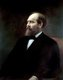 James Abram Garfield (November 19, 1831 – September 19, 1881) was the 20th President of the United States, serving from March 4, 1881, until his assassination later that year.<br/><br/>  Garfield had served nine terms in the House of Representatives, and had been elected to the Senate before his candidacy for the White House, though he declined the Senate seat once he was elected President. He is the only sitting House member to have been elected president.
