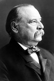 Stephen Grover Cleveland (March 18, 1837 – June 24, 1908) was an American politician and lawyer who served as the 22nd and 24th President of the United States. He won the popular vote for three presidential elections – in 1884, 1888, and 1892 – and was one of the three Democrats (with Andrew Johnson and Woodrow Wilson) to serve as president during the era of Republican political domination dating from 1861 to 1933.<br/><br/>  He was also the first and only President in American history to serve two non-consecutive terms in office.