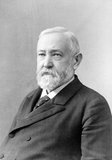 Benjamin Harrison (August 20, 1833 – March 13, 1901) was an American politician and lawyer who served as the 23rd President of the United States from 1889 to 1893; he was the grandson of the ninth president, William Henry Harrison.<br/><br/>  Before ascending to the presidency, Harrison established himself as a prominent local attorney, Presbyterian church leader and politician in Indianapolis, Indiana. During the American Civil War, he served the Union as a colonel and on February 14, 1865 was confirmed by the U.S. Senate as a brevet brigadier general of volunteers.